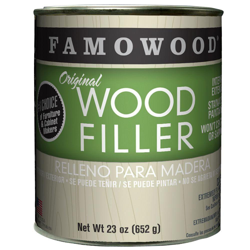 Hardwood Floor Filler Products Of Bruce 40 3 5 Oz Acrylic Wood Filler 871272 the Home Depot within Maple original Wood Filler 12 Pack