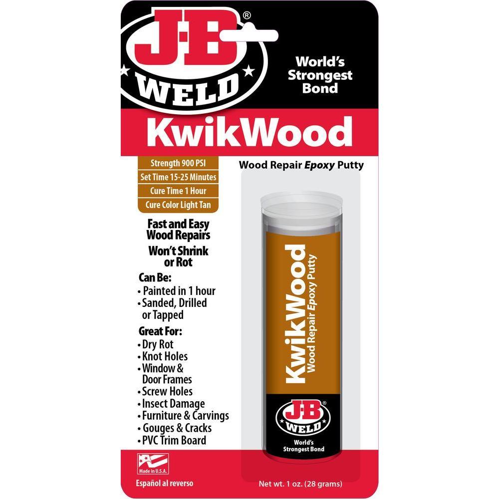 hardwood floor filler repair of j b weld kwikwood 1 oz filler 8257 the home depot with regard to filler