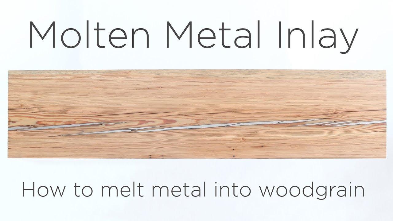 hardwood floor filler repair of molten metal inlay how to melt metal into wood grain youtube throughout molten metal inlay how to melt metal into wood grain