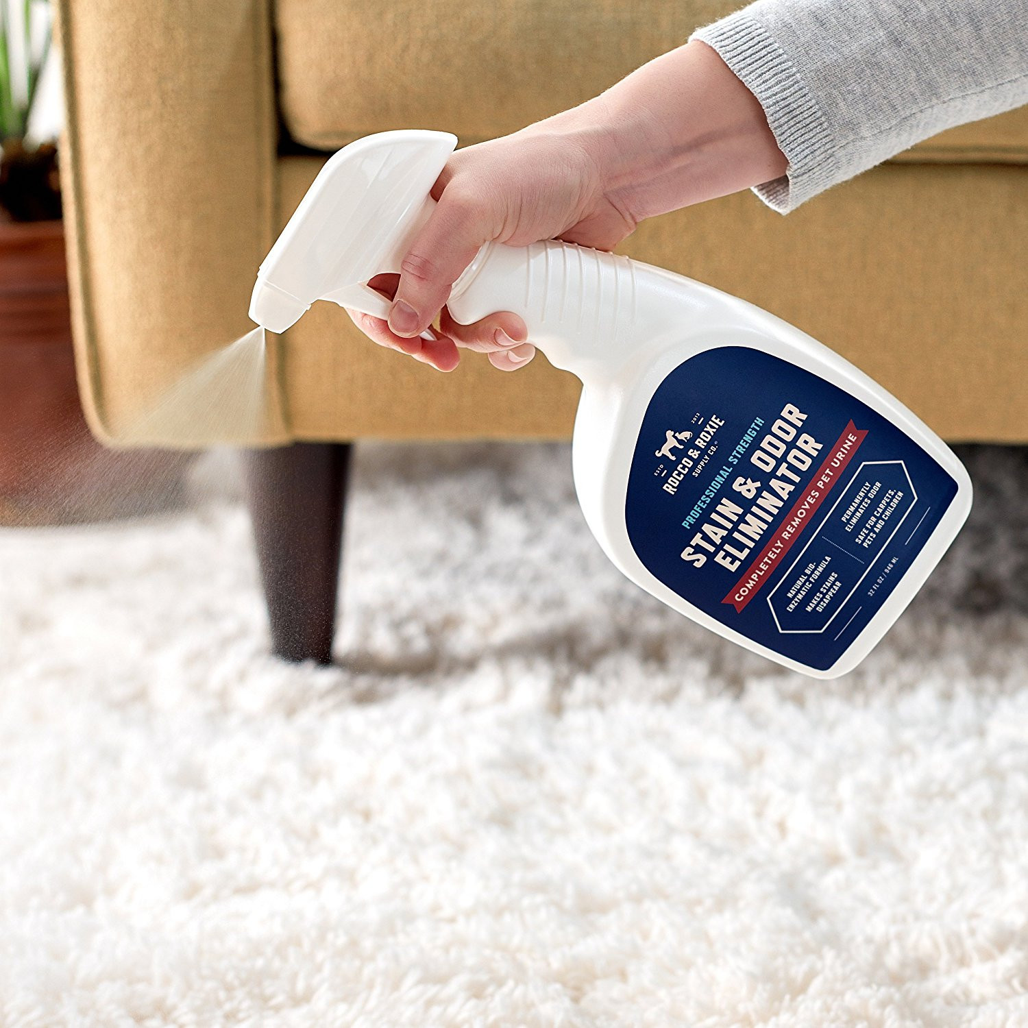 hardwood floor in bathroom smells like urine of amazon com rocco roxie supply co professional strength stain for amazon com rocco roxie supply co professional strength stain odor eliminator enzyme powered pet odor stain remover for dogs and cat urine spot