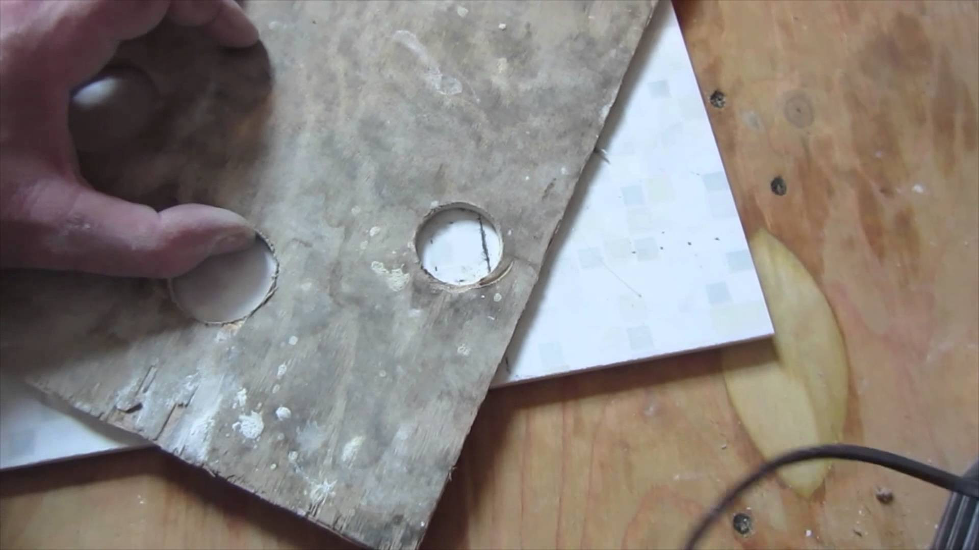 hardwood floor installation boston of how to drill a hole with a core bit in ceramic tile porcelain tile with how to drill a hole with a core bit in ceramic tile porcelain tile drilling youtube