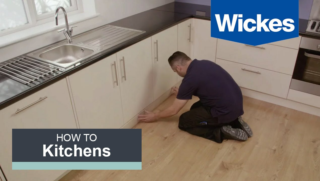 hardwood floor installation colorado springs of how to fit a kitchen plinth pelmet and cornice with wickes youtube with regard to maxresdefault