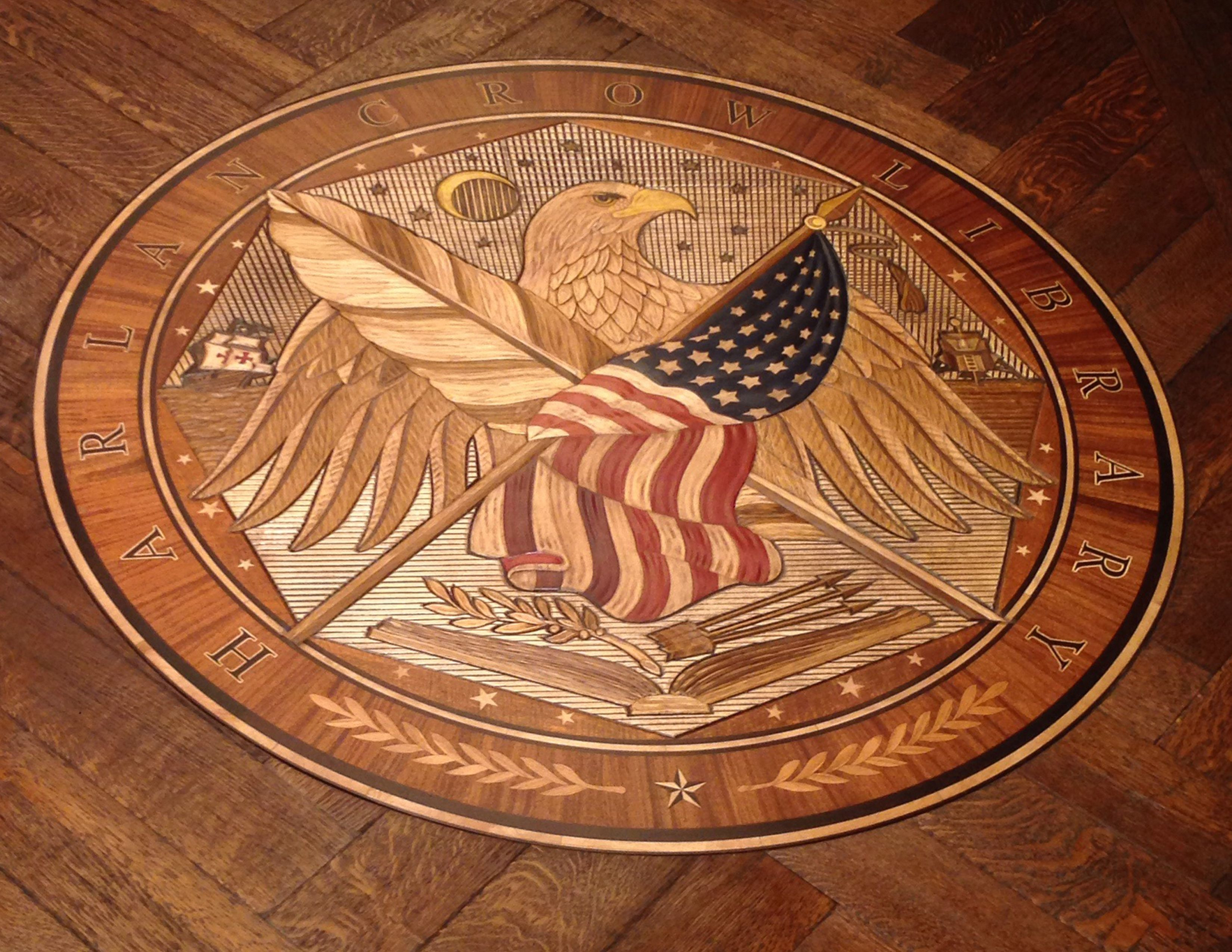 hardwood floor installation dallas of extremely custom 3d medallion laser cnc then handcarved www in extremely custom 3d medallion laser cnc then handcarved www woodwright net