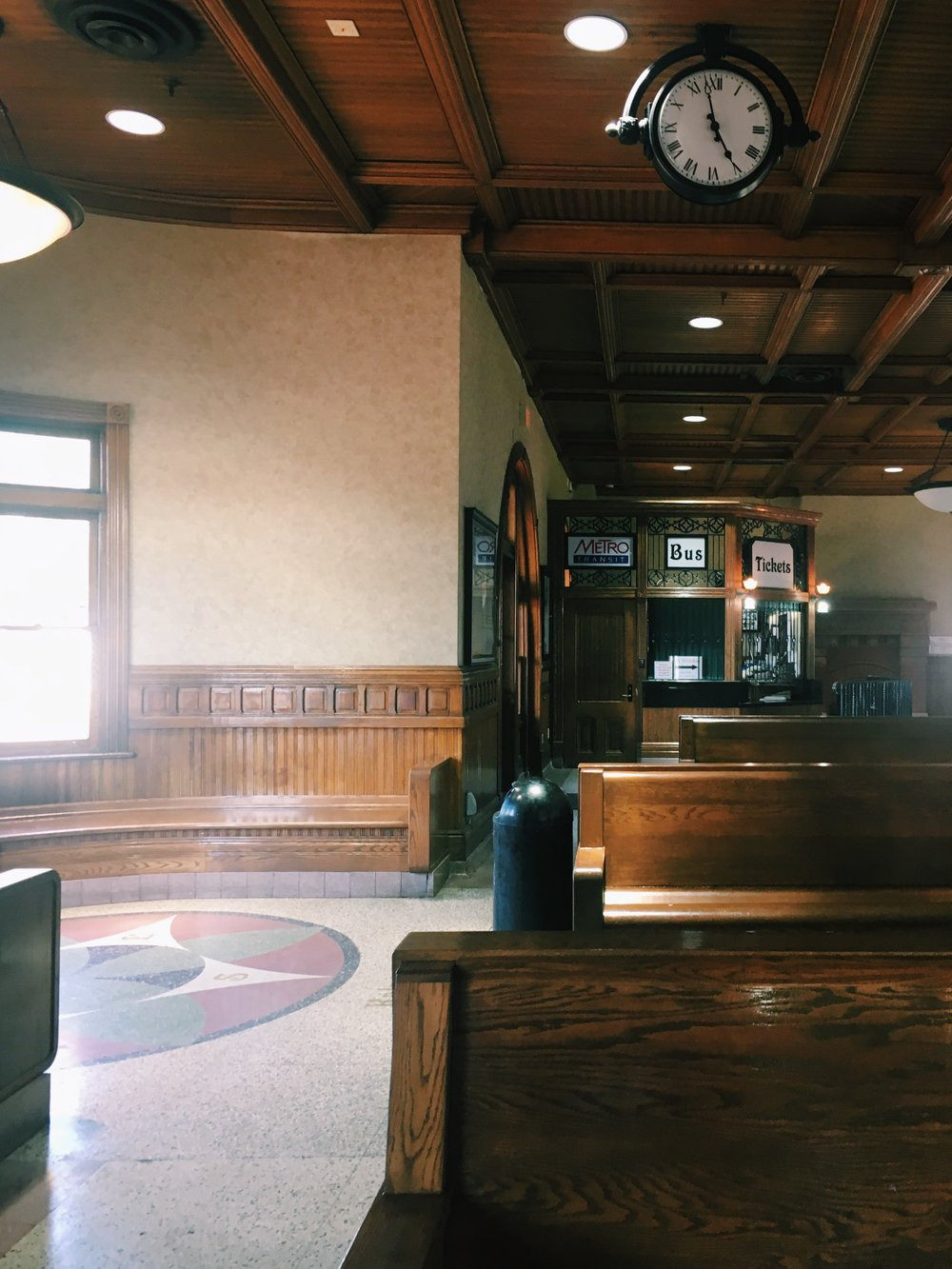 hardwood floor installation kalamazoo of bikes brews in kalamazoo summer by rail intended for the kalamazoo station was built in 1887 and features beautiful wooden benches a bubbling fountain outside and a fireplace inside for the cold michigan