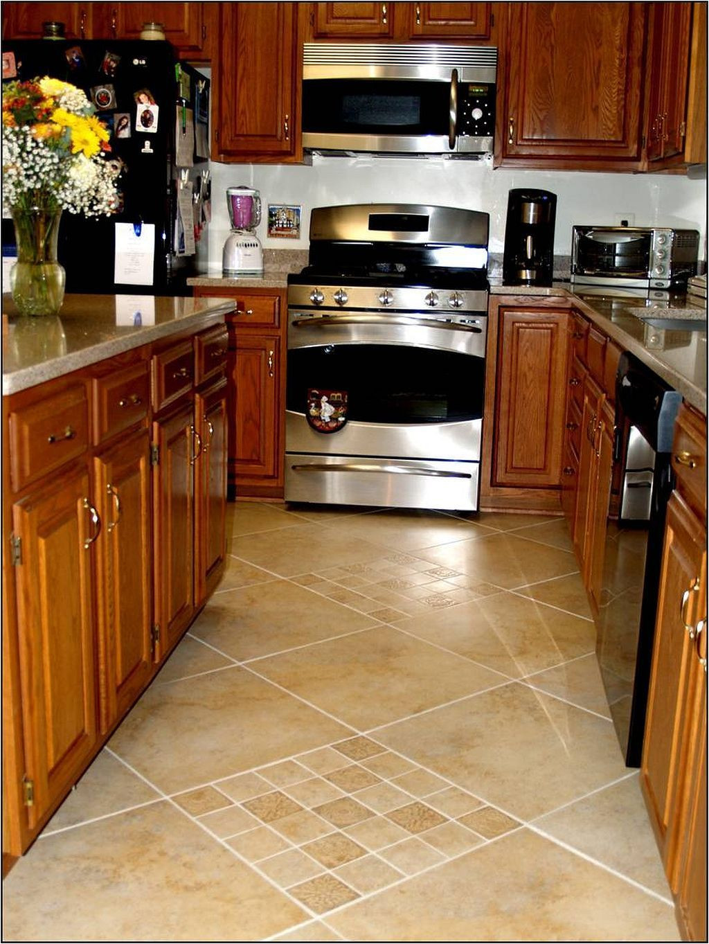 Hardwood Floor Installation Layout Of Pin by Kitchen Flooring Ideas On Kitchen Flooring Ideas Pinterest with Ceramic Tile Designs for Kitchen Floors Installing Ceramic Tile Flooring Might Be Done by Anyone with Great Eyesight or G Click now for Info