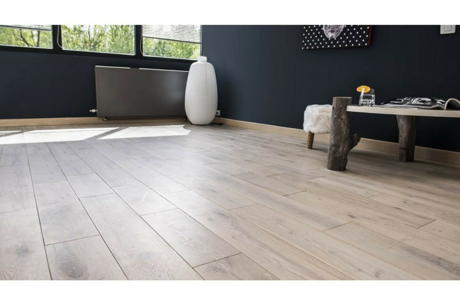 hardwood floor installation time of greywash 5 european white oak solid hardwood easiklip inside our greywash solid oak floating floor is the floor of the times its bleached oil finish makes it the king of contemporary decor as it brings light and