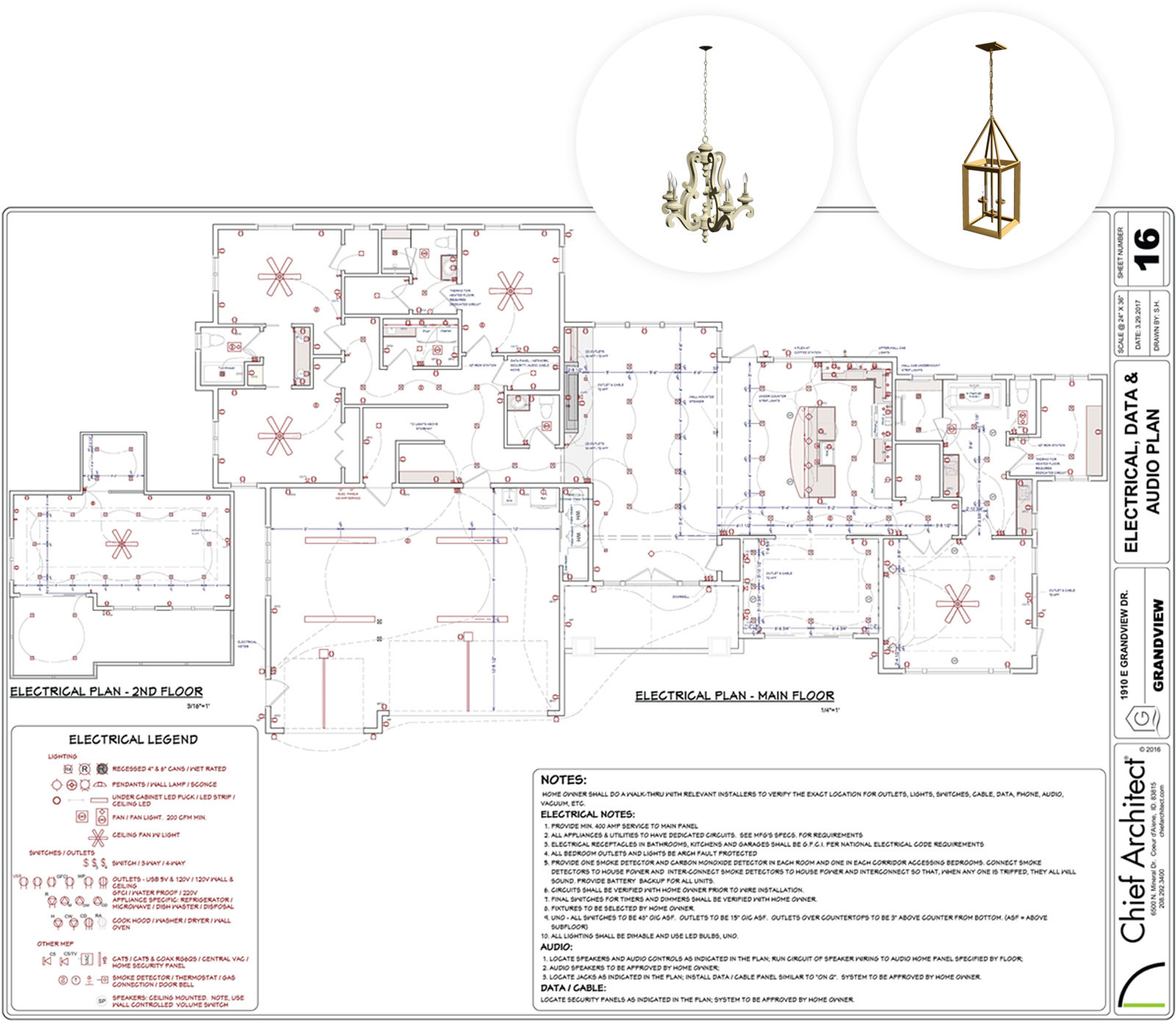 hardwood floor layout software of interior design software chief architect pertaining to sample electrical lighting planset