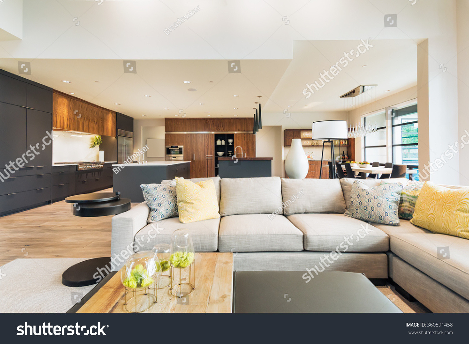 hardwood floor living room ideas of beautiful living room interior new luxury stock photo edit now for beautiful living room interior in new luxury home with view of kitchen home interior with