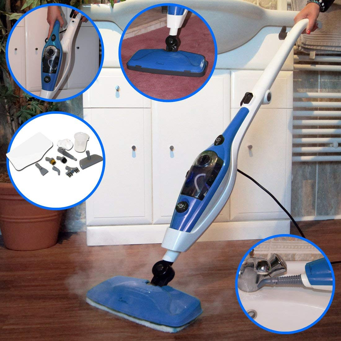 hardwood floor maintenance cleaning of wolf pro 1500w 9 in 1 super heated steam cleaner cleaning system throughout steam cleaner cleaning system sanitising upright and hand held complete with wide range of accessories clean carpets windows hard wooden floor