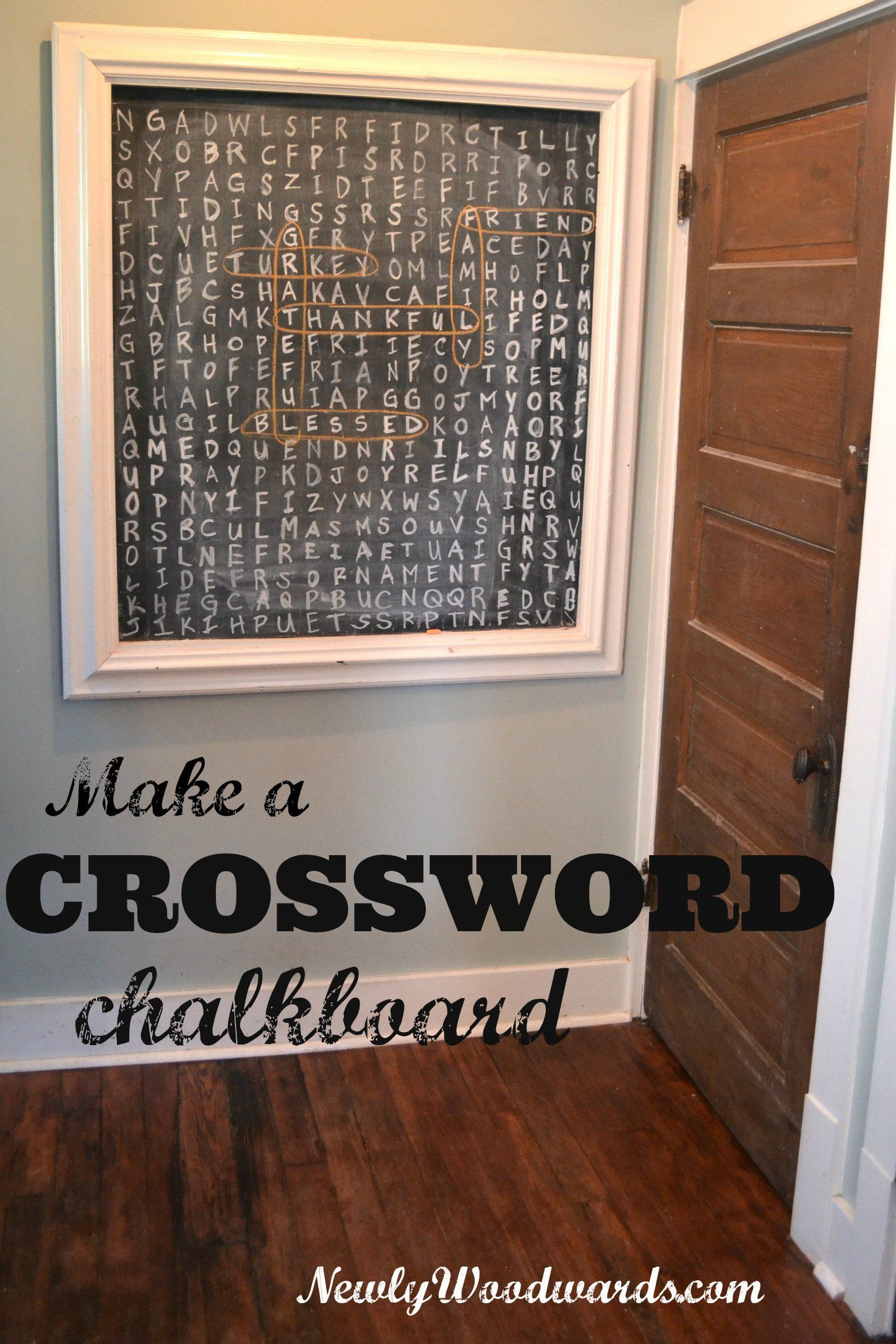 Hardwood Floor Maintenance Crossword Of A Thanksgiving Word Search Diy Pinterest Chalkboards Word within Diy Word Search for Thanksgiving Dinner Guests or Entertaining In General Diy Crossword Entertainment