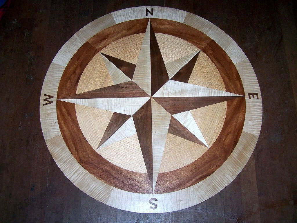 Hardwood Floor Medallion Store Of Pin by Debra Cochran On Compass Roses Pinterest Flooring Regarding so Much More Afordable