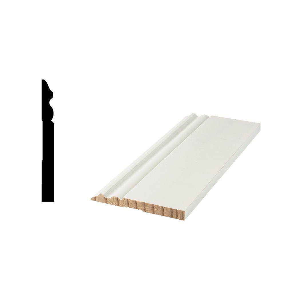 hardwood floor molding types of woodgrain millwork wg 5180 9 16 in x 5 1 4 in primed finger regarding store sku 489097