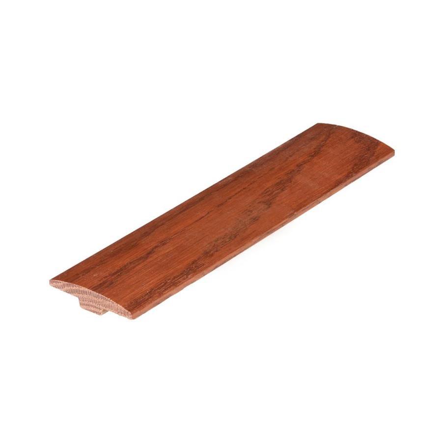 hardwood floor nail gun lowes of shop flexco 2 in x 78 in gunstock red oak t moulding floor moulding in flexco 2 in x 78 in gunstock red oak t moulding floor moulding