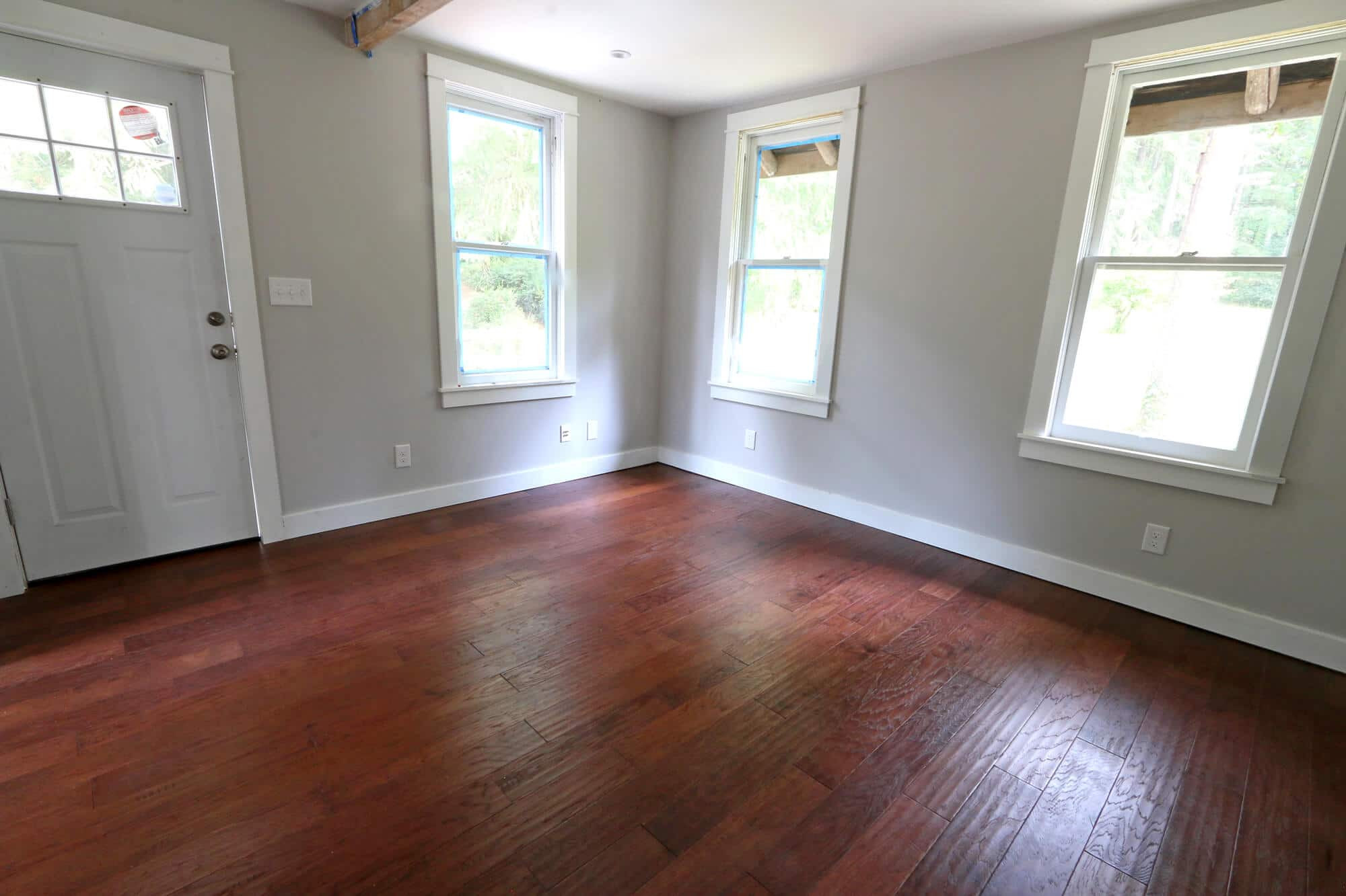 hardwood floor nail gun of the micro dwelling project part 5 flooring the daring gourmet for 32 lighter