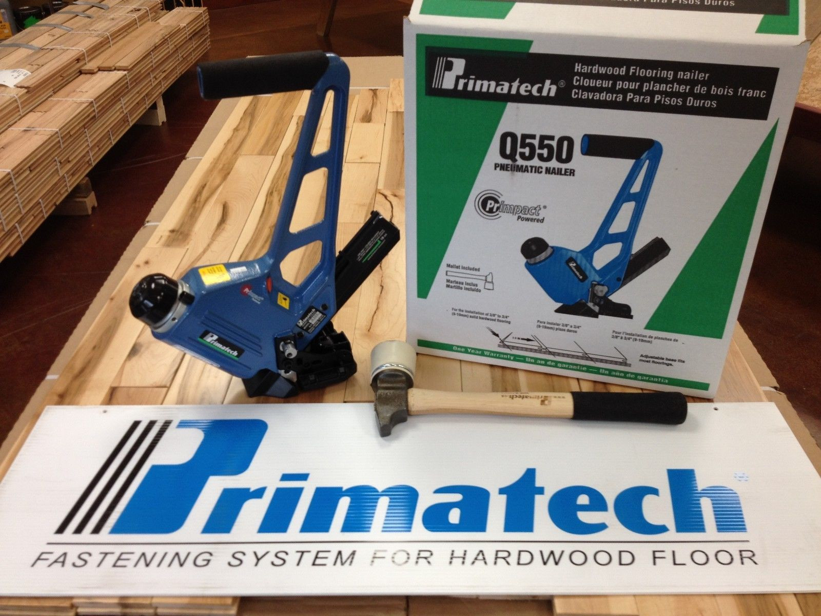 hardwood floor nailer hammer of primatech q550 18 ga pneumatic adjustable flooring nailer ebay within norton secured powered by verisign