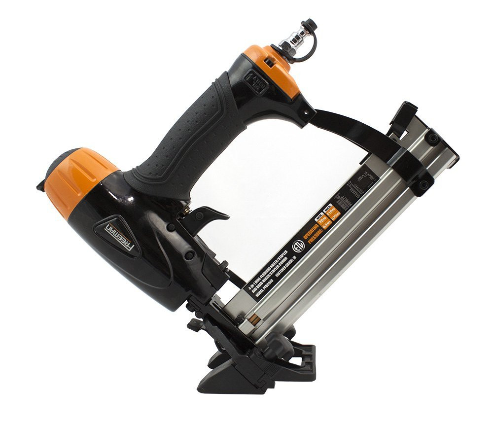 hardwood floor nailer princess auto of best rated in power nailers staplers helpful customer reviews with freeman pfbc940 4 in 1 18 gauge mini flooring nailer stapler product image