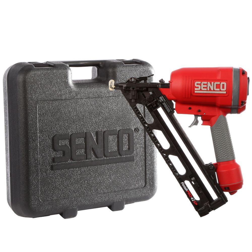 hardwood floor nailer rental of senco finishpro42xp 2 1 2 in angled finish nailer fip42xp the in angled finish nailer