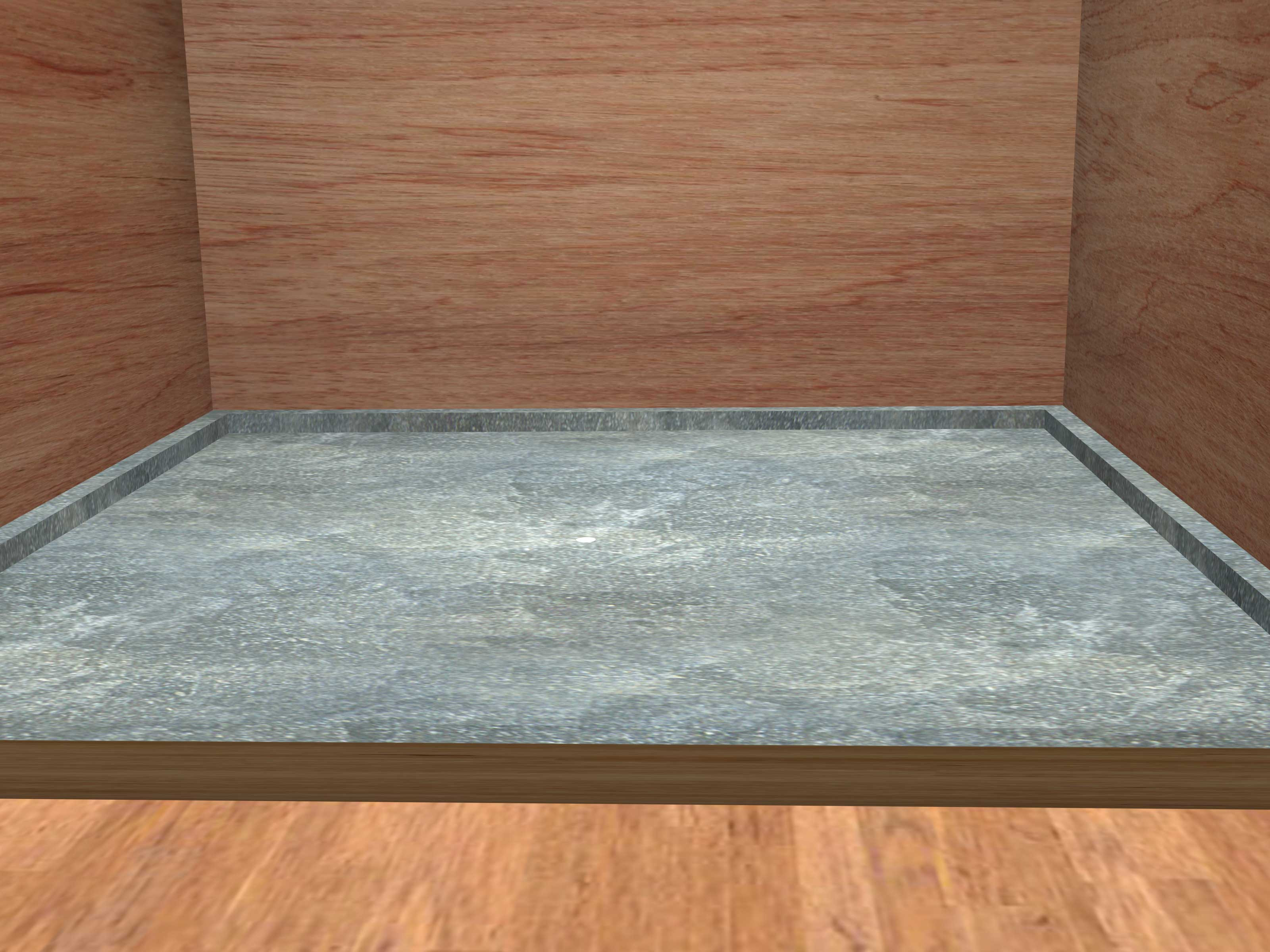hardwood floor on cement slab of how to make a shower pan 15 steps with pictures wikihow for make a shower pan step 15