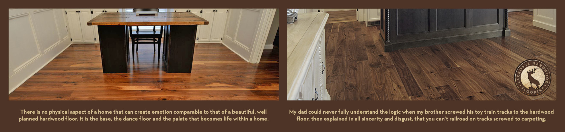 hardwood floor on top of carpet of lacrosse hardwood flooring walnut white oak red oak hickory with regard to lhfsliderv22