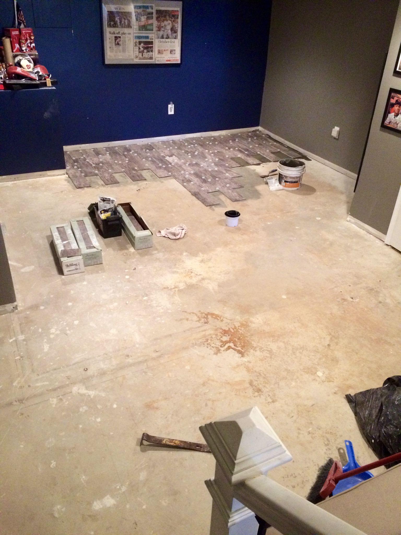 hardwood floor over concrete basement of basement flooring renovation eclectically grey wood look tile for inside basement flooring renovation eclectically grey wood look tile for the basement