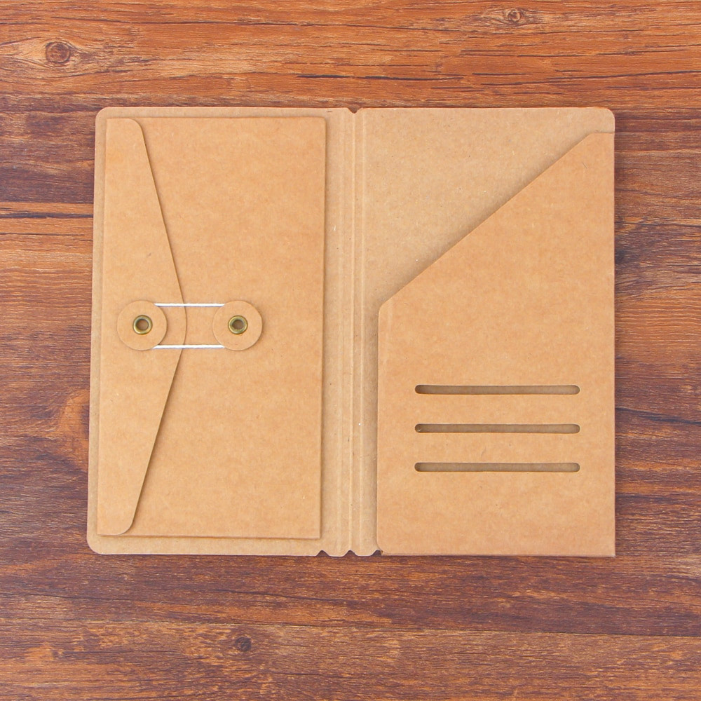 hardwood floor paper of travelers notebook kraft paper s m l pocker business card holder with regard to travelers notebook kraft paper s m l pocker business card holder passport standard carry passport style file folder in notebooks from office school