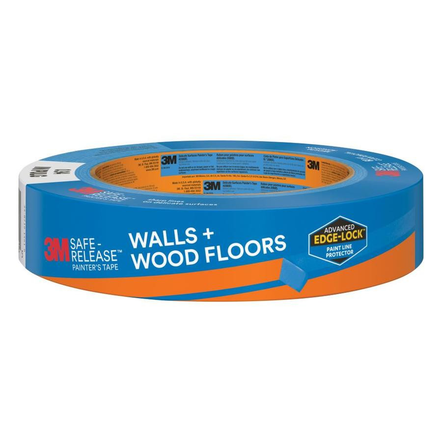 hardwood floor protectors furniture lowes of shop 3m safe release 0 94 in painters tape at lowes com regarding 3m safe release 0 94 in painters tape