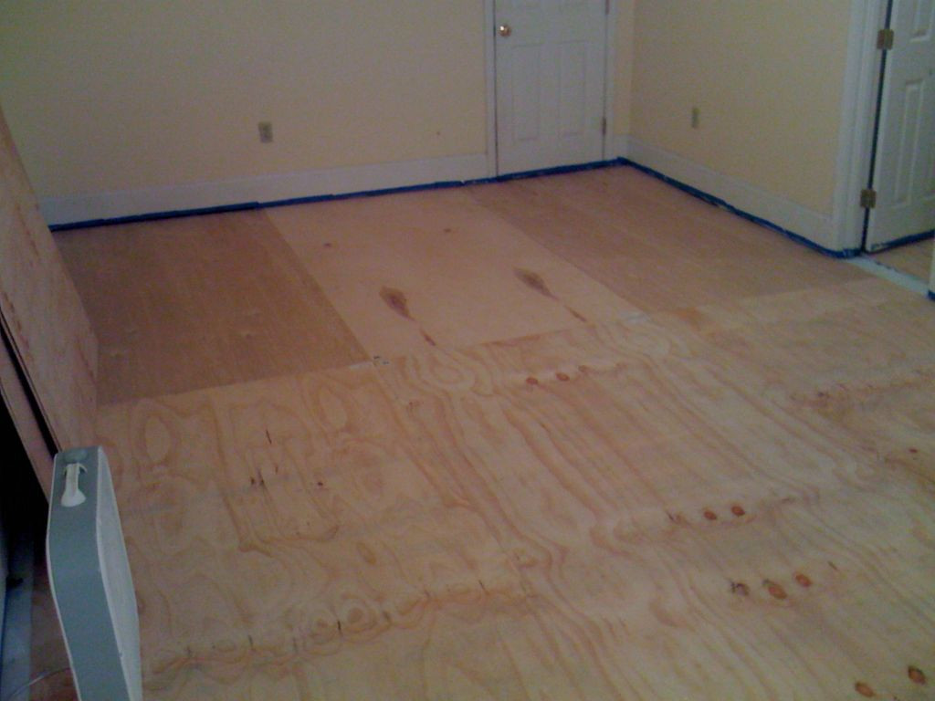 hardwood floor quarter round of diy plywood floors 9 steps with pictures with regard to picture of install the plywood floor