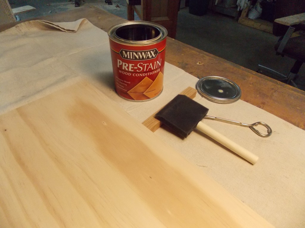 hardwood floor refinishing asheville nc of create a diy mid century planter on a budget minwax blog page 15 within since i was using pine a wood that turns blotchy when stained i gave it a liberal coat of minwaxa pre stain wood conditioner then waited fifteen minutes