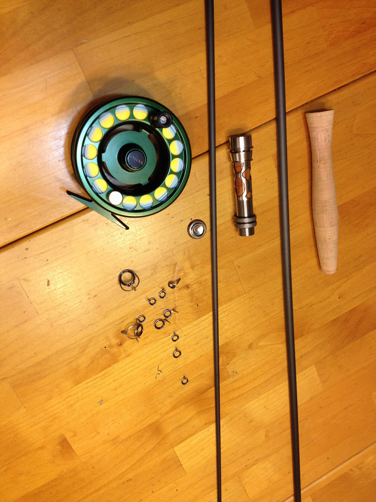 hardwood floor refinishing bend oregon of custom fly rod build texasbowhunter com community discussion forums regarding components minus my tip guide and the fly reel the reel seat is assembled excluding the little silver round circular butt cap this will all get glued up