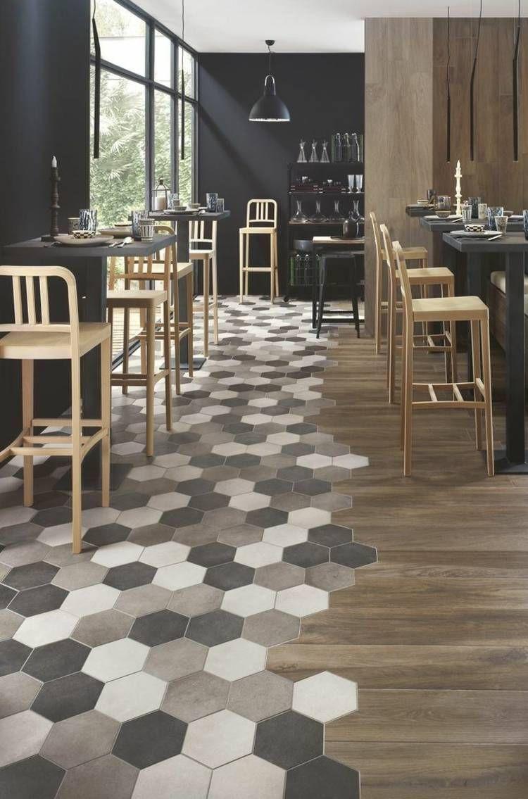 Hardwood Floor Refinishing Brick Nj Of Carrelage Hexagonal Tendance Idaes De Couleurs Et Designs with Regard to Carrelage Hexagonal En Nuances Naturelles Combina De Parquet
