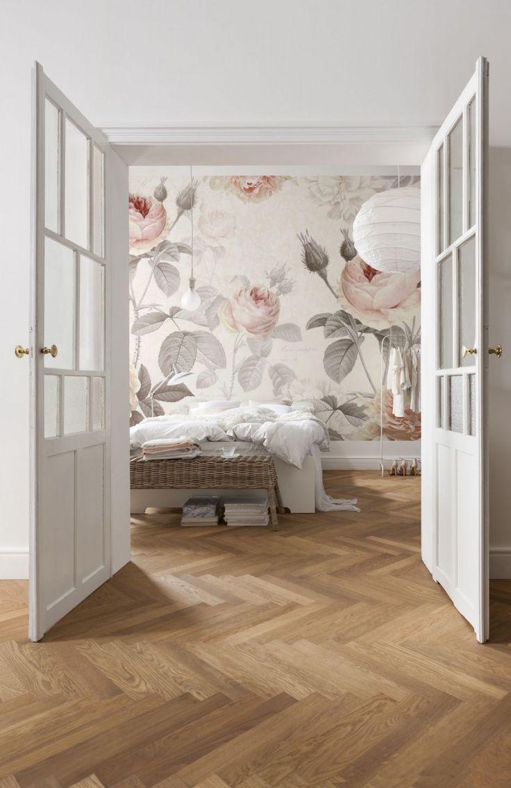 hardwood floor refinishing burlington ontario of 13 best murales fleuries images on pinterest inside 6 murales de papier peint fleuries pour un dacor romantique