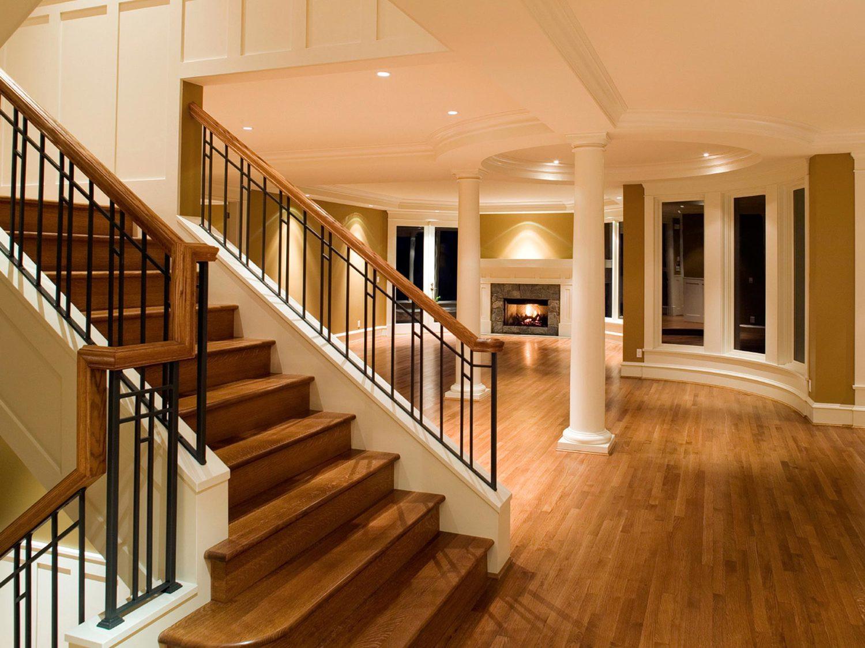 hardwood floor refinishing danbury ct of personal touch wood floors in stairs living room