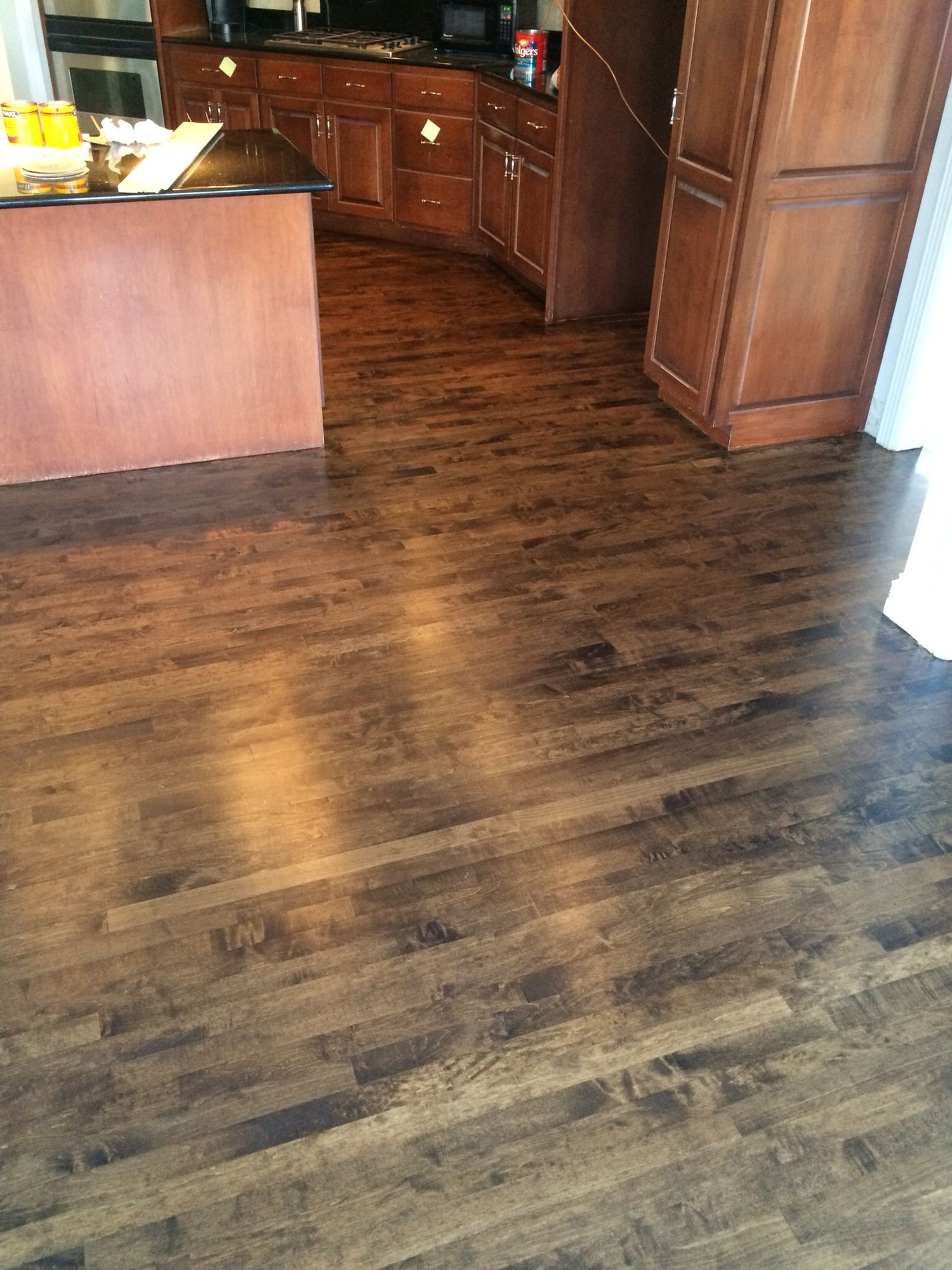 hardwood floor refinishing denver co of wood floor refinishing service adventures in staining my red oak regarding hardwood floors products process wood floor refinishing service maple stained dark walnut