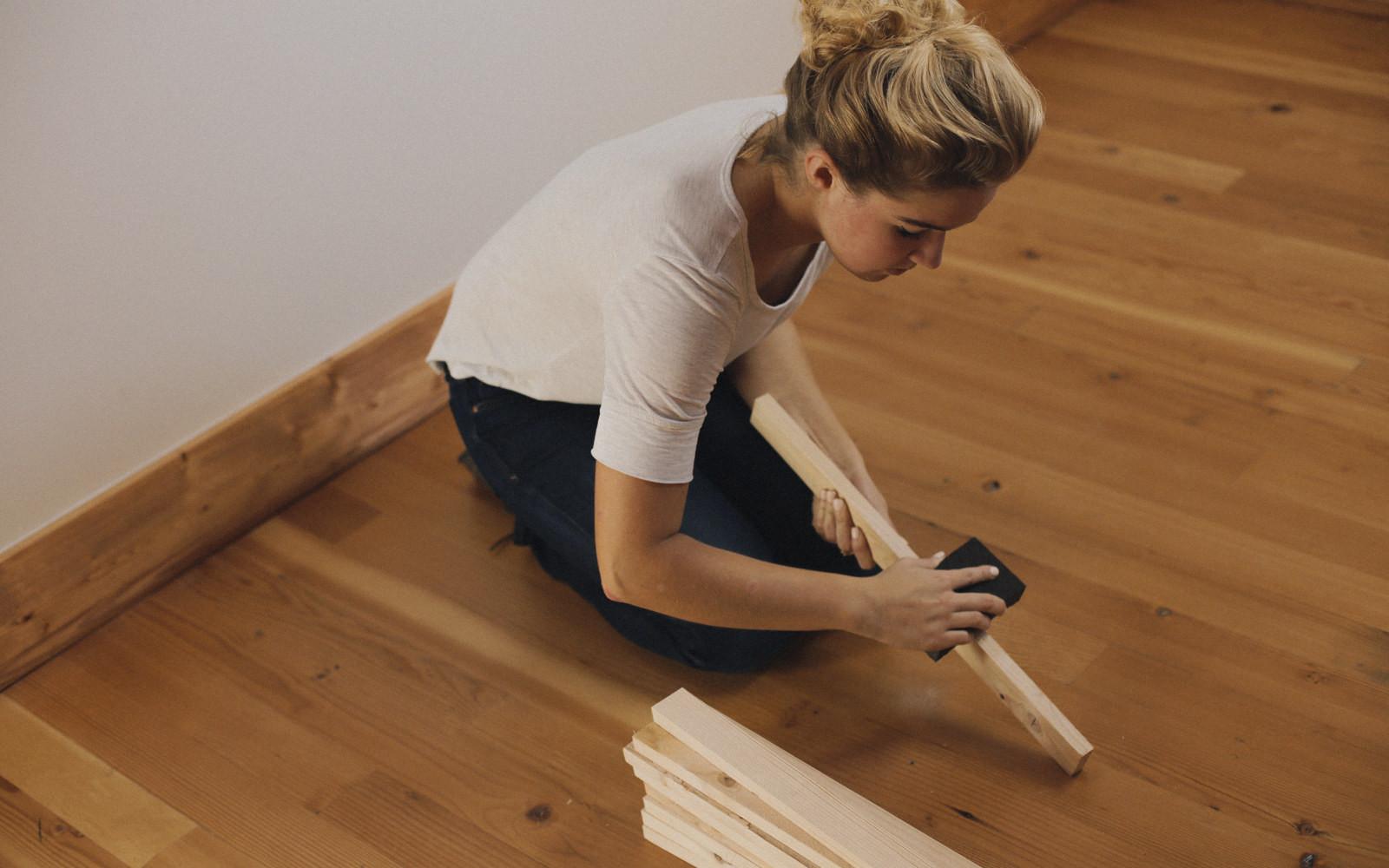 Hardwood Floor Refinishing Everett Wa Of Diy Wood Door Mat How to Make A Wood Stake Door Mat Dunn Diy Inside Sanding Wood Door Mat Diy