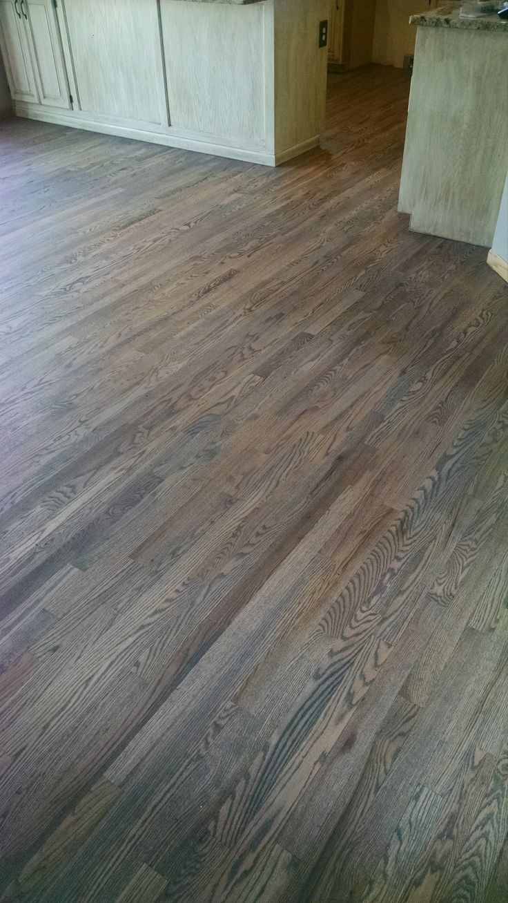 hardwood floor refinishing fort collins of best 75 floors images on pinterest red oak floors wood flooring within red oak floor with custom gray stain