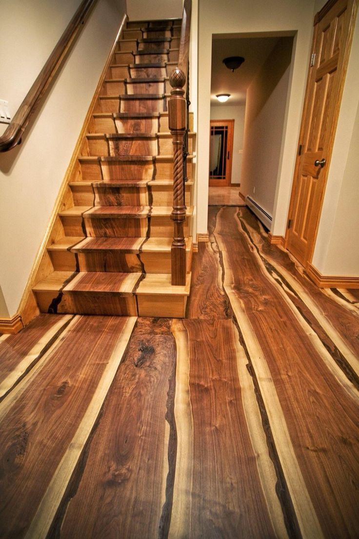 hardwood floor refinishing fort wayne of 57 best floor ideas images on pinterest home ideas ground regarding black walnut live edge wood flooring i want a house with stairs like this