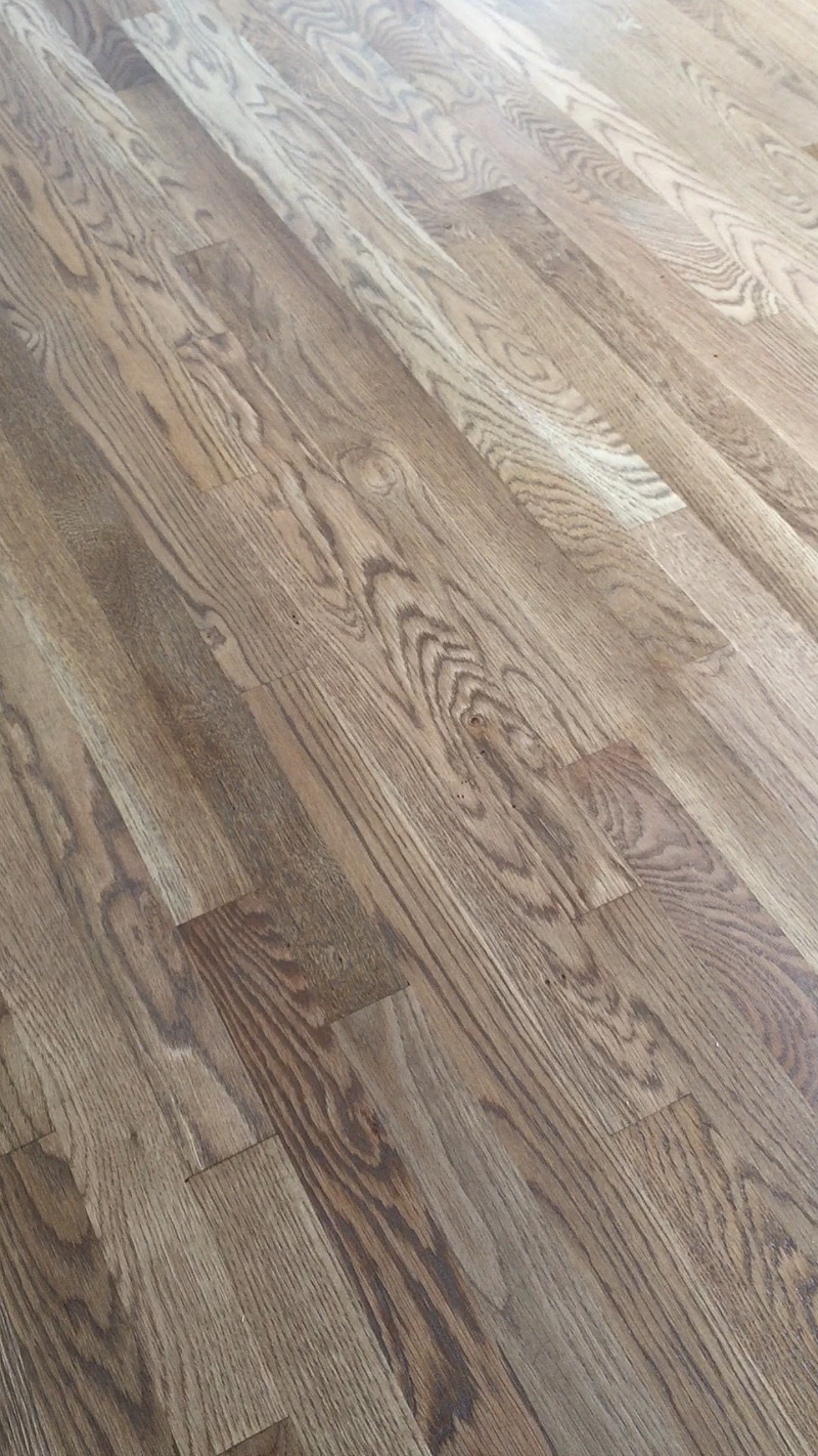 hardwood floor refinishing hampton roads of weathered oak floor reveal more demo sand and sisal blog intended for white oak hardwood floors duraseal weathered oak stain see a video home tour of the new refinished floors upcoming kitchen and family room renovation