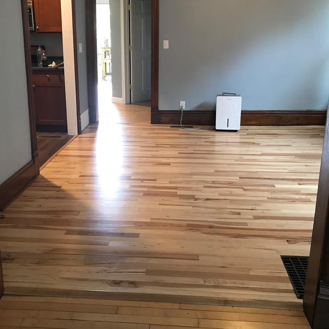 hardwood floor refinishing hickory nc of brucehardwood hash tags deskgram regarding new floor complete a long weekend well spent on our first time installing hardwood flooring
