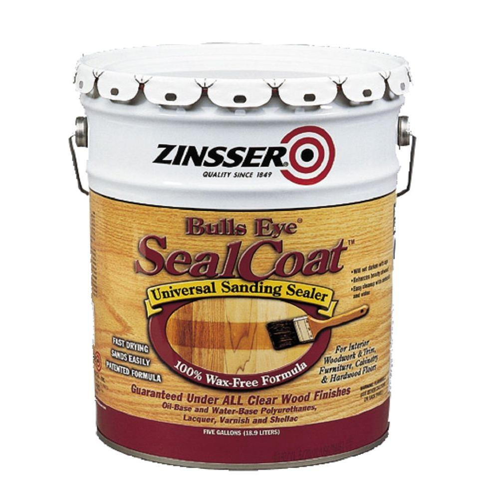 Hardwood Floor Refinishing Kit Home Depot Of Water Based Lacquer Polyurethane the Home Depot Regarding Sealcoat Universal Sanding Sealer