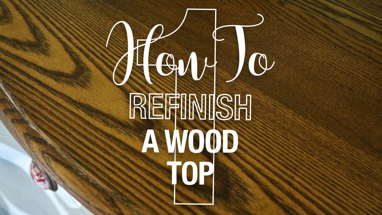 Hardwood Floor Refinishing Long island Of How to Refinish A Table top or Dresser Part 1 Lost Found Inside How to Refinish A Wood top1