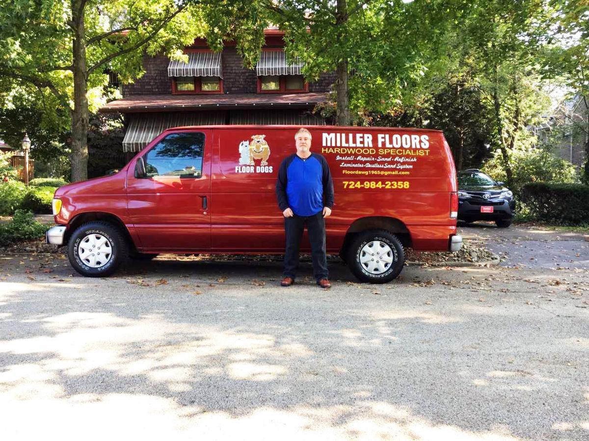 hardwood floor refinishing norfolk va of new business miller floors opens in uniontown local news intended for buy now