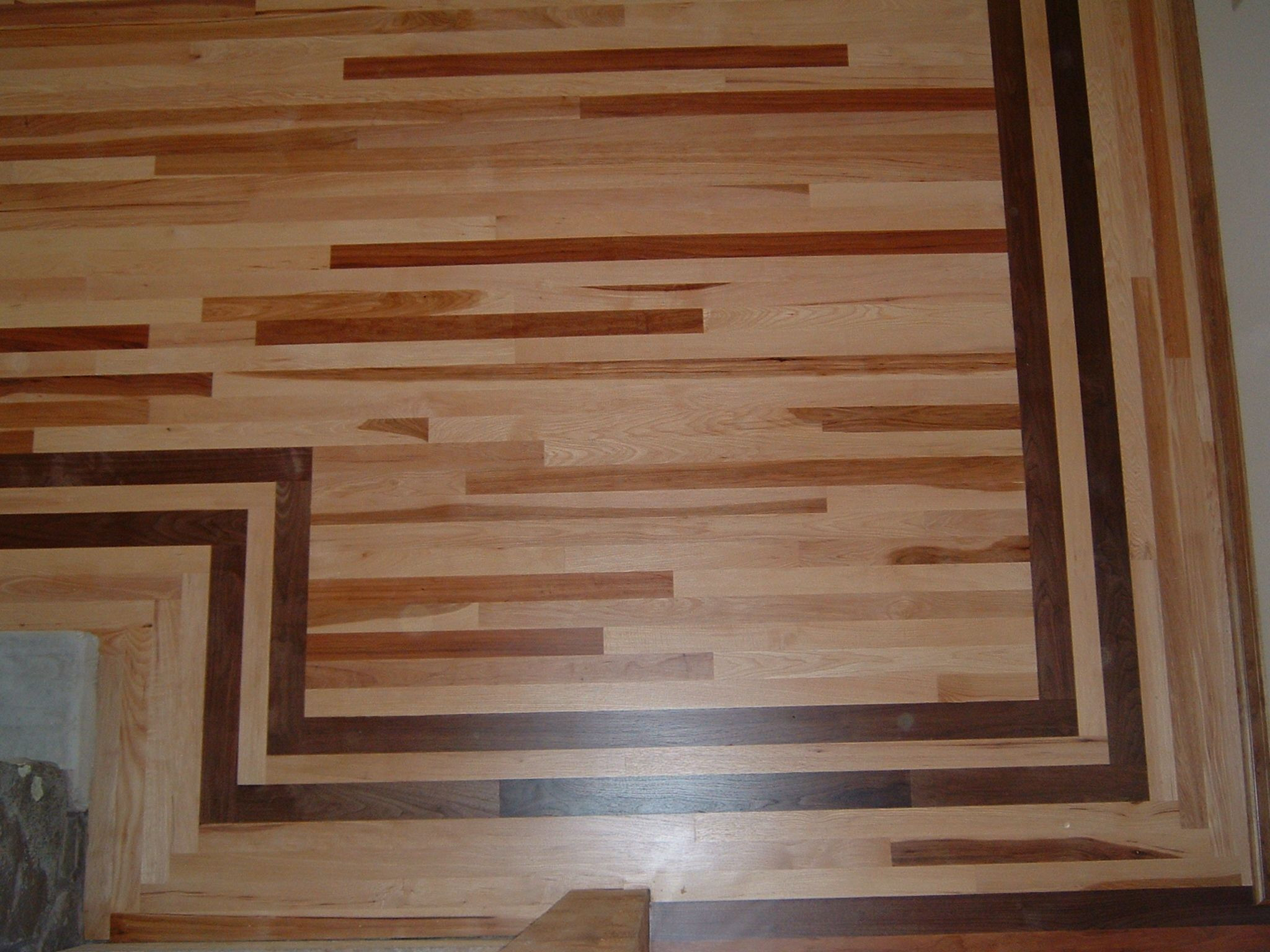 hardwood floor refinishing omaha ne of dark wood flooring with inlay dark brown borders wood floors pertaining to dark wood flooring with inlay dark brown borders wood floors design awesome hickory wood floors