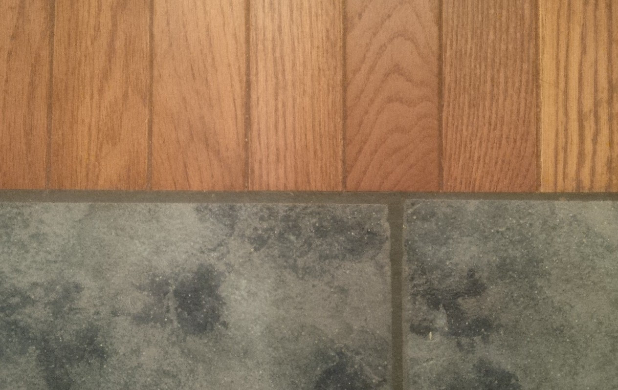 Hardwood Floor Refinishing Overland Park Ks Of when Wood Floors Meet Tile Important Tips You Cant Miss for Finished Grout Gap Hardwood Floors Svb Kansas City