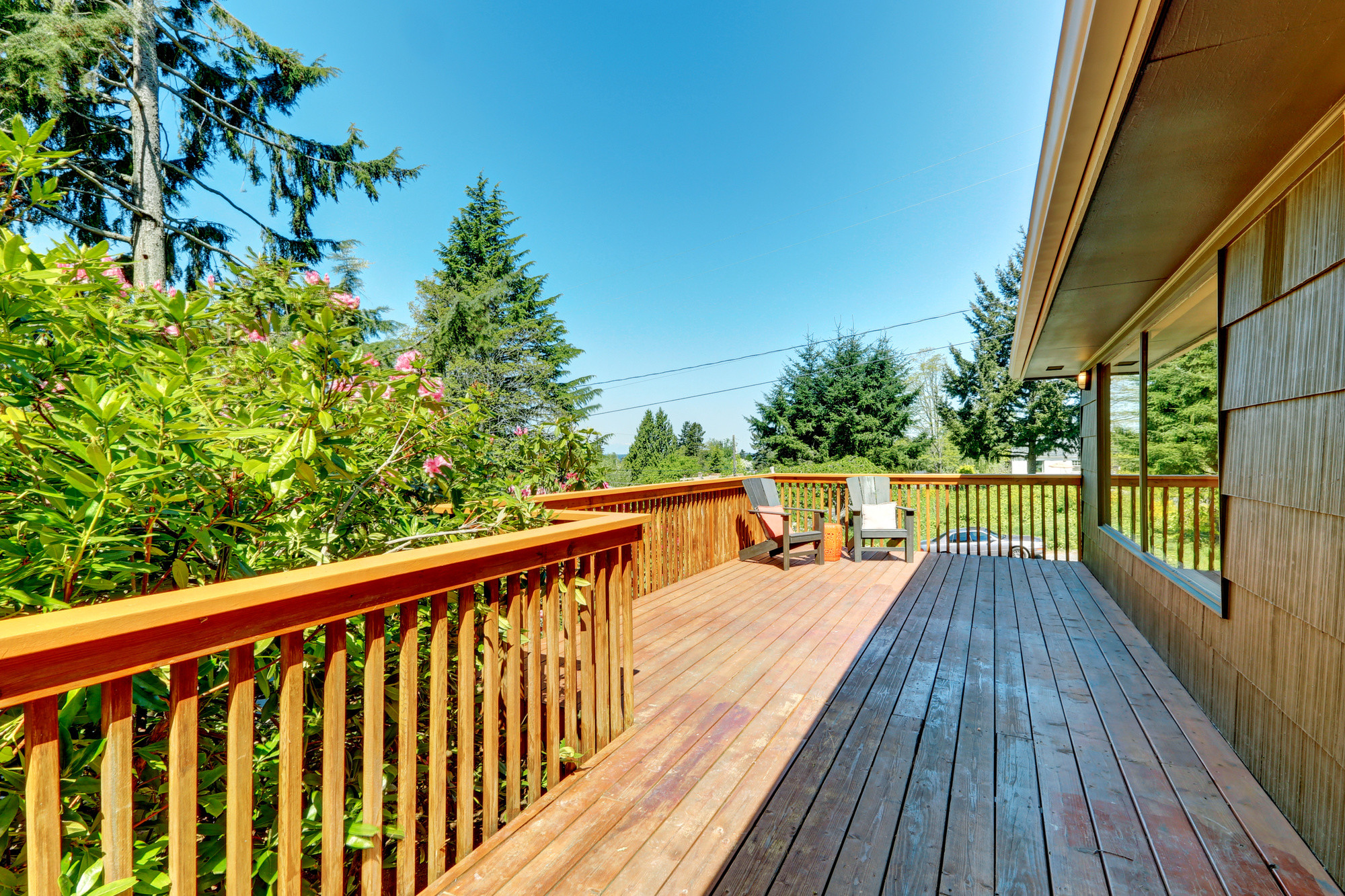hardwood floor refinishing pinehurst nc of wood or composite decking which should you choose throughout composite decking