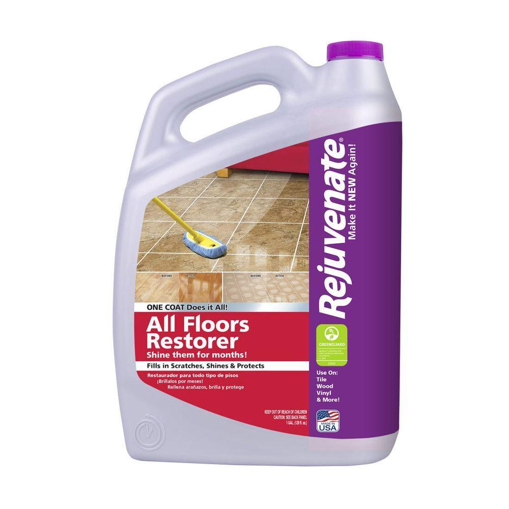 hardwood floor refinishing products home depot of rejuvenate 128 oz all floors restorer protectant rj128f the throughout rejuvenate 128 oz all floors restorer protectant