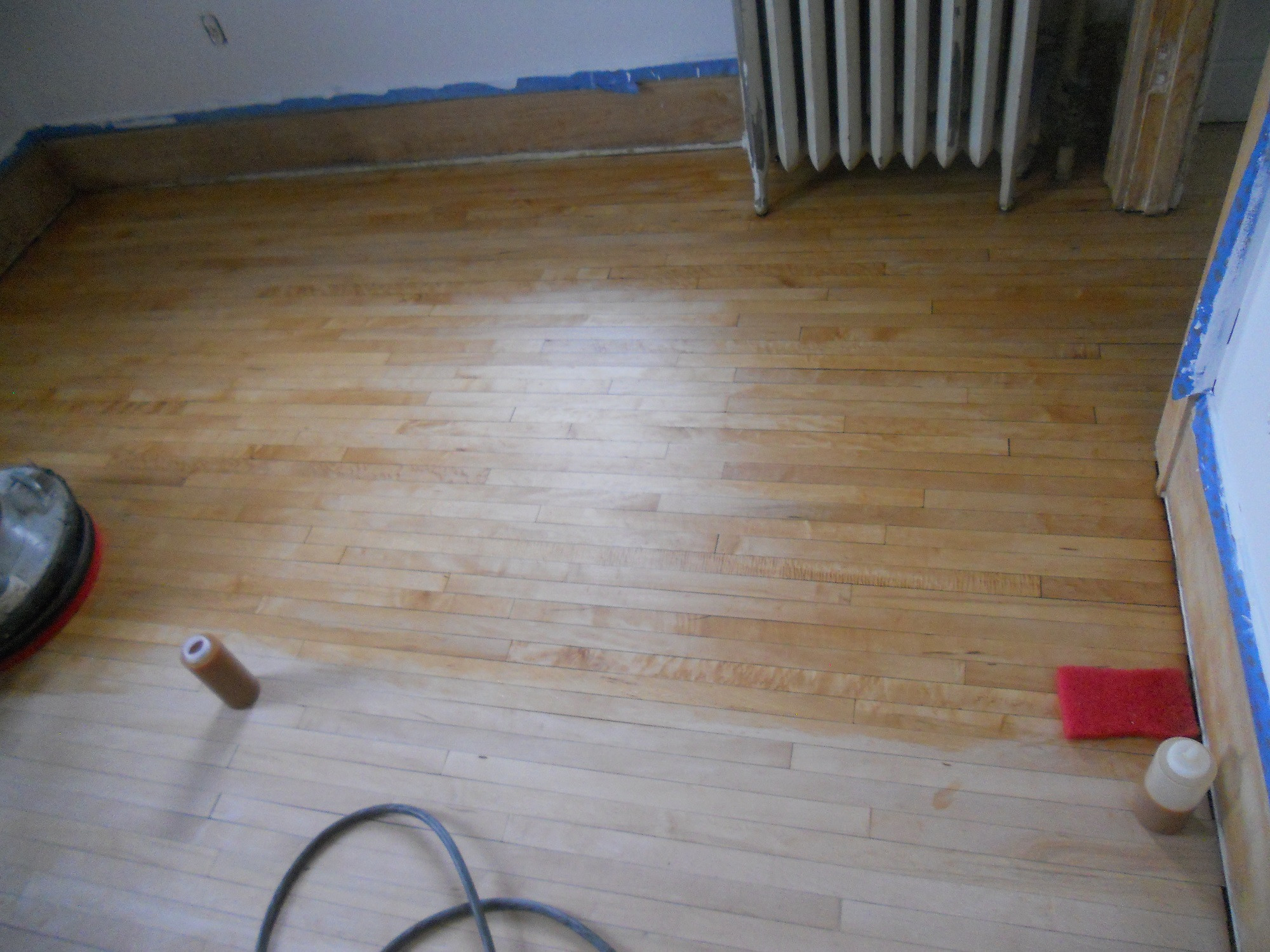 hardwood floor refinishing st petersburg fl of how to apply rubio wood floor techniques 101 with regard to 6 buff on and buff off section by section
