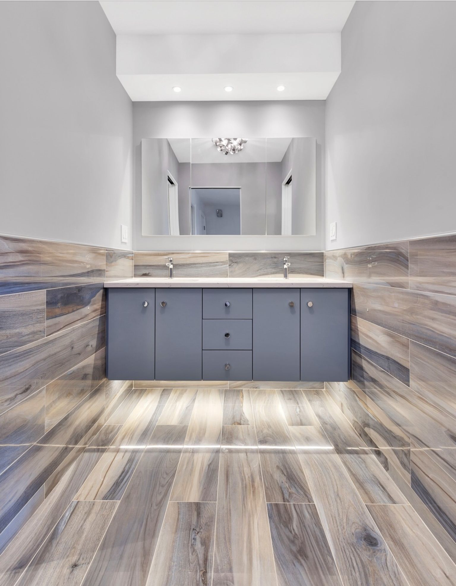 Hardwood Floor Refinishing Stamford Ct Of Artistic Tile I Our Wood Look Kauri Plank In Tasman Blue Adds within Artistic Tile I Our Wood Look Kauri Plank In Tasman Blue Adds Refinement and Warmth to This Upper East Side Ny Master Design by Stacy Miles Of Our
