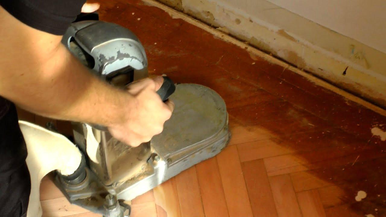 hardwood floor refinishing vs replacing of how to use an edge floor sander youtube intended for maxresdefault