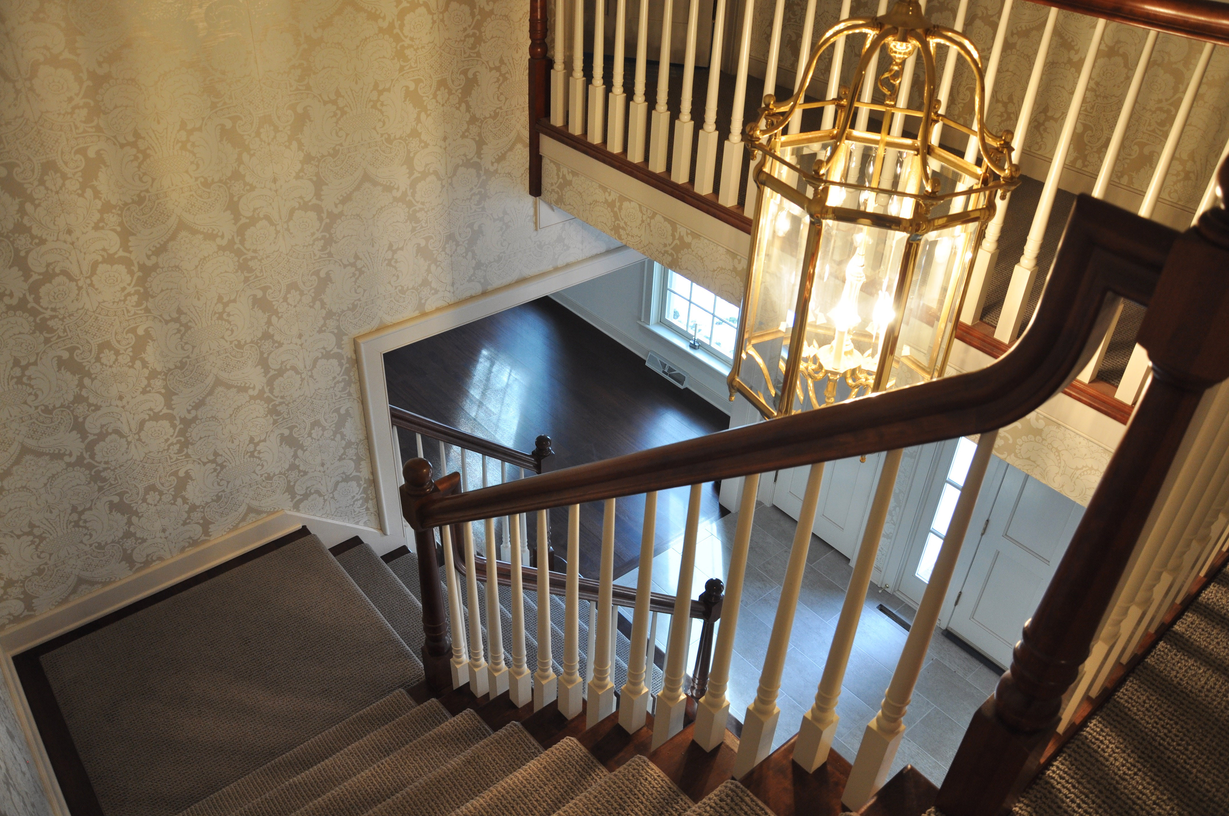 hardwood floor refinishing waukesha of hardwood stair treads staircasing installation milwaukee wi throughout click image to enlarge