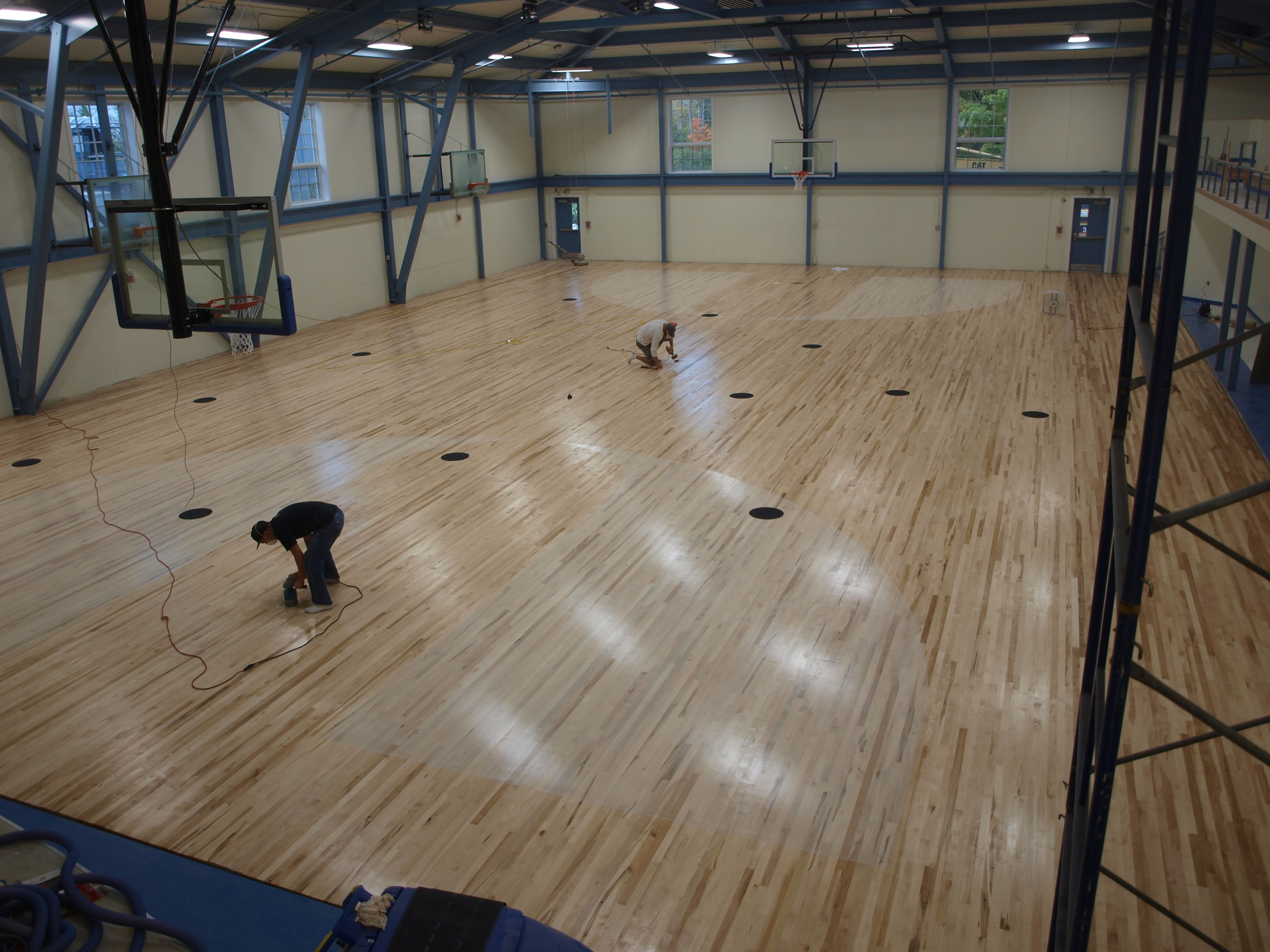 hardwood floor refinishing westerly ri of the craftsbury common lessons in building community new england with regard to craftsbury academys new gym floor was built entirely with locally donated lumber and installed with locally volunteered labor
